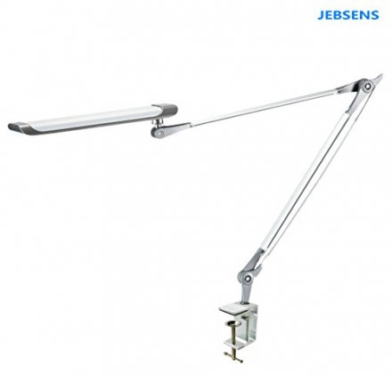 JEBSENS – Z6 Daylight White Giant Eye-care 12W LED Clamp On Desk Lamp Professional Architect Swing /
