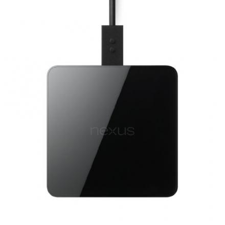 Nexus Wireless Charger for Nexus Smartphones/Tablets – Retail Packaging – Black
