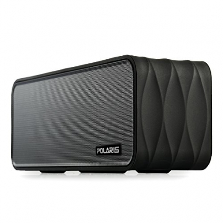 Polaris V8 Portable Bluetooth Wireless Speaker with FM-Radio, NFC, AUX Jack, TF Card Slot, Voice Pro