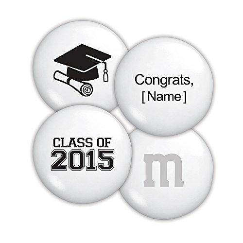 Personalized Class of 2015 Graduation M&M'S Bulk Candy Bag (5lb)