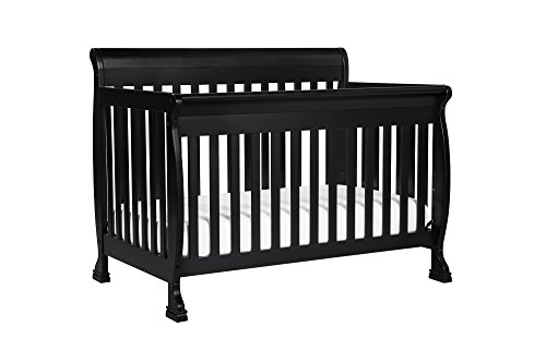 DaVinci Kalani 4-in-1 Convertible Crib with Toddler Rail, Ebony