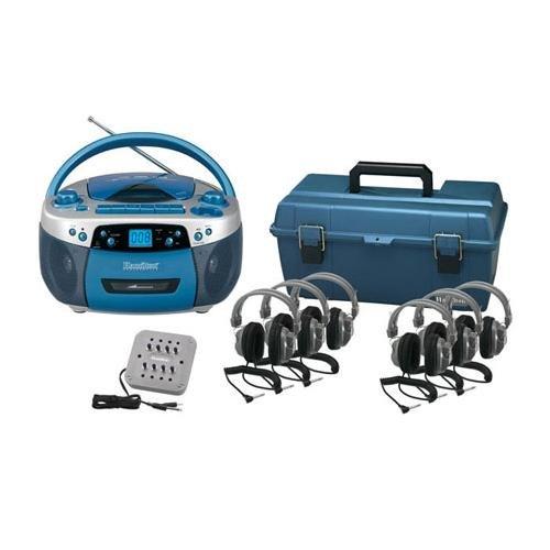 Hamilton 6 Person USB CD & Cassette Listening Center – Hamilton LCP/MPC5050PLUS/6SV
