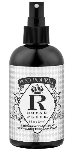 Poo~Pourri Before-You-Go Toilet Spray 8-Ounce Bottle, Royal Flush