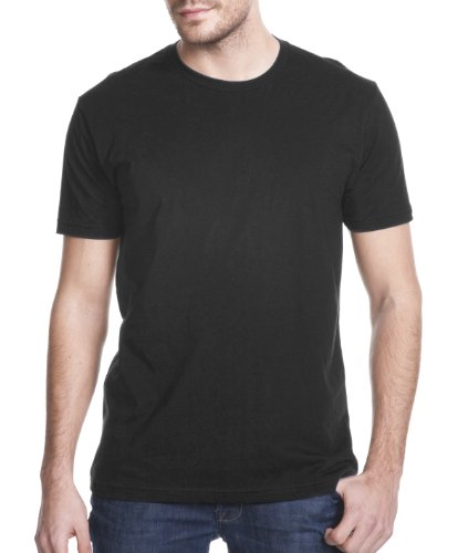 Next Level Mens Premium Fitted Short-Sleeve Crew