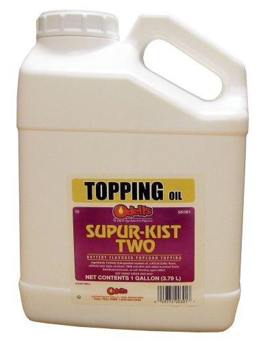 O'Dells Popcorn Supur-Kist II Topping (Gallon) Case