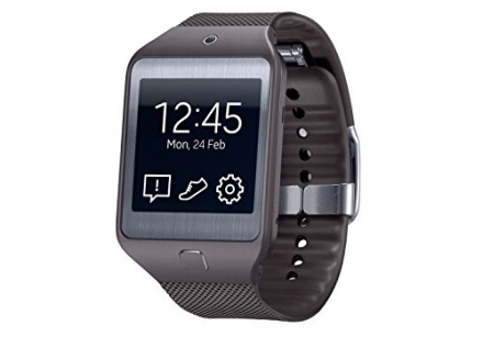 New Shop New Samsung Gear 2 Neo Smart Watch Sm R381 with Heart Rate Monitor – Gray R381