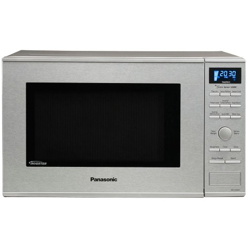 Panasonic 1200W 1.2 Cu. Ft. Countertop/Built-in Microwave with Inverter Technology NN-SD681S Stainle