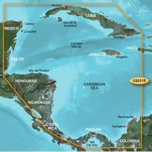 BlueChart g2 Southwest Caribbean – microSD/SD card