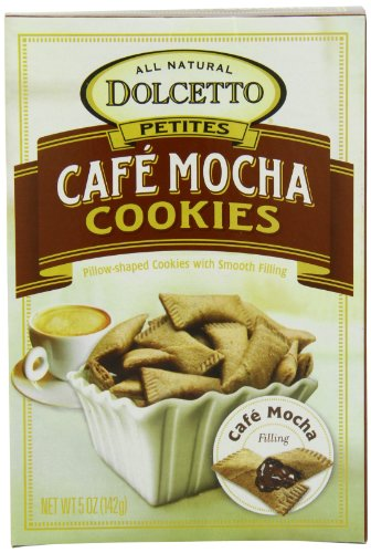 Dolcetto Wafer Petites, Cafe Mocha, 5-Ounce Boxes (Pack of 12)