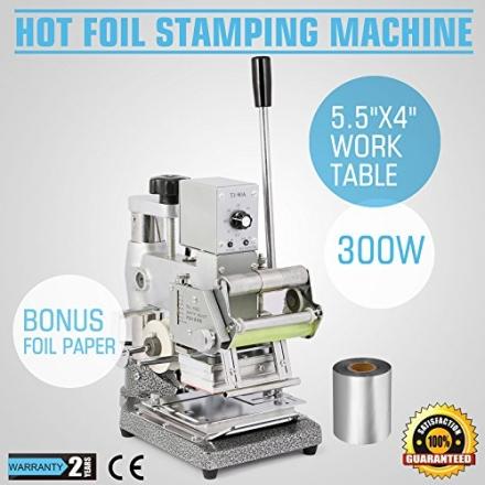 GreatTool GreatTool Stamping Machine Hot Foil 300w Embossing DIY Code Printer Printing Card Maker