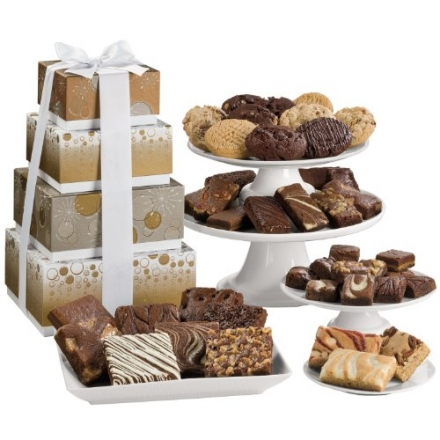 Fairytale Brownies Sparkling 4-Box Tower Gift