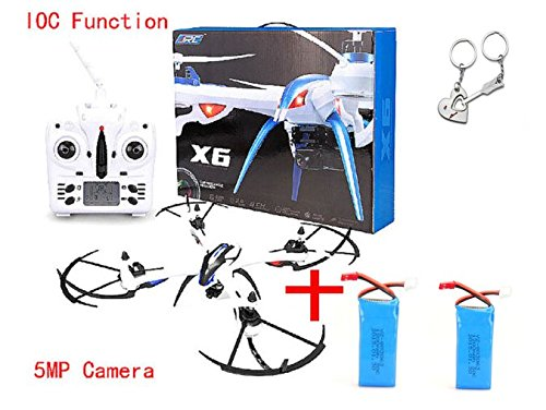 Blueskysea Free Gift + JJRC H16 Tarantula X6 drone 4CH RC Quadcopter Wide-Angle 5MP camera Hyper IOC