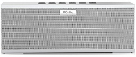 BÖHM BIG Wireless Bluetooth 4.0 Stereo Speaker – Features Dual 55mm Passive Subwoofers, DSP Technol