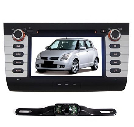 Pumpkin 7 inch For Suzuki Swift 2004-2010 In Dash HD Touch Screen Car DVD Player Navi/GPS/Bluetooth/