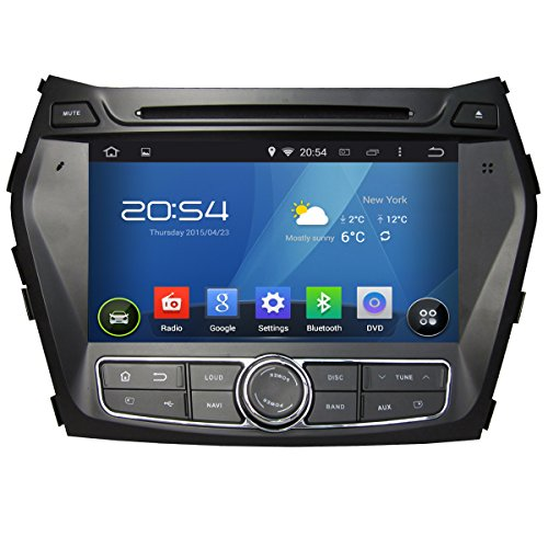 Carfond 8 Inch Android 4.4.4 Double Din Car DVD Player GPS Navi Stereo In Dash Navigation Support Bl