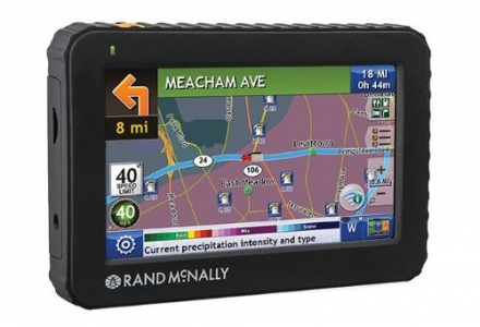 Rand McNally Intelliroute TND 520 Truck GPS with Lifetime Maps
