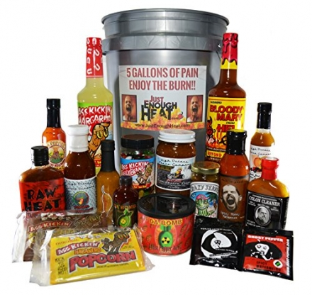 5 Gallons of Pain Spicy Sauce Gift Set