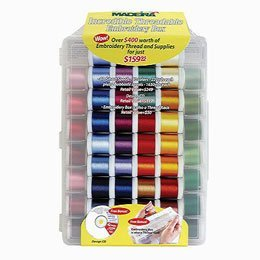 Madeira Incredible Threadable Gift Box – Rayon (82 Spools)