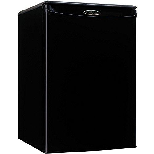 Danby Designer DAR026A1BDD Compact All Refrigerator, 2.6-Cubic Feet, Black