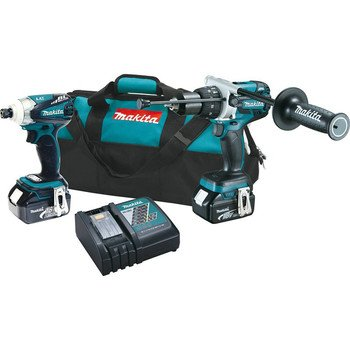 Makita XT252M LXT Lithium Ion Brushless Cordless Combo Kit, 2-Piece