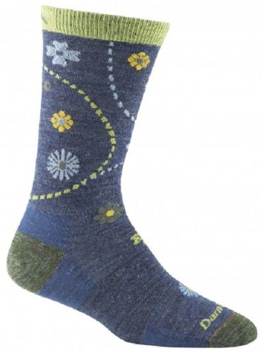 Darn Tough Vermont Women's Spring Garden Crew Light Cushion Hiking Socks