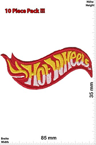 Patch – Hot Wheels – Hot Cars – red – yellow – silver – Motorsport – Ralley – Car – Motorbike – Iron