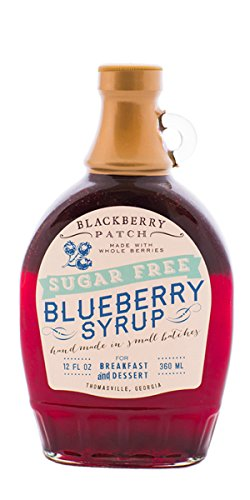 "Wild Blueberry Syrup ""Contains SUGAR"", 12 oz"