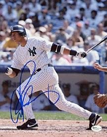 Alex Rodriguez Autographed New York Yankees Baseball 8×10 Photo – Autographed MLB Photos