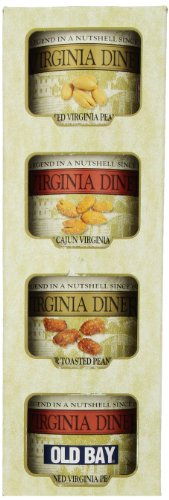 Virginia Diner Tower of Traditions, Set of Four, 10-Ounce Tins