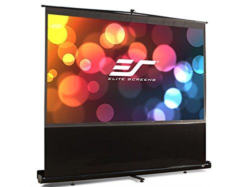 Elite Screens F84NWH ezCinema Series Portable Projection Screen (84″ Diag. 16:9 41.2″Hx73.2″W)