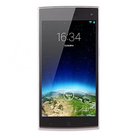 IRULU Victory 1s (V1s) 5.0 Inch Smartphone Android 4.4.2 KitKat IPS 1G RAM/8G ROM White