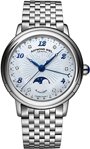 Raymond Weil Women's 2739-ST-05985 Maestro Analog Display Swiss Automatic Silver Watch