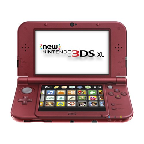New Nintendo 3DS XL – Red