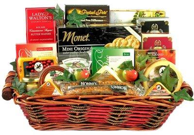 Gourmet Cheese Gift Basket