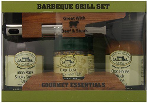 Robert Rothschild Farm Barbecue Grill Set, Beef and Steak