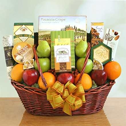 California Freshness Fruit & Gourmet Basket