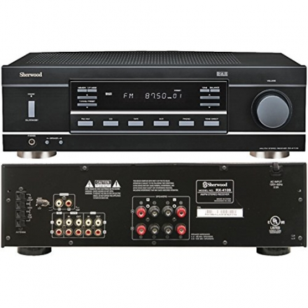 Sherwood RX-4109 200W Stereo Receiver – Black