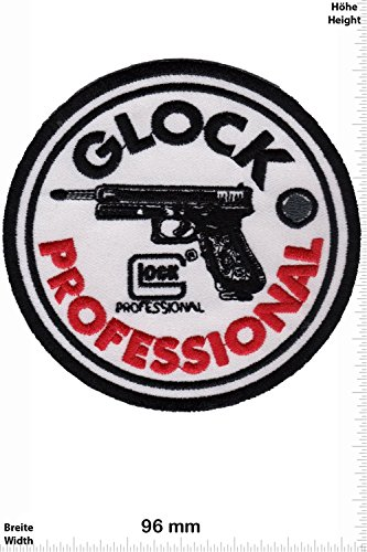 Patch – Glock Professional – Weapon – Arms- Rifle – Shotgun- Pistol – Gun – Firearms – Vest – Iron o