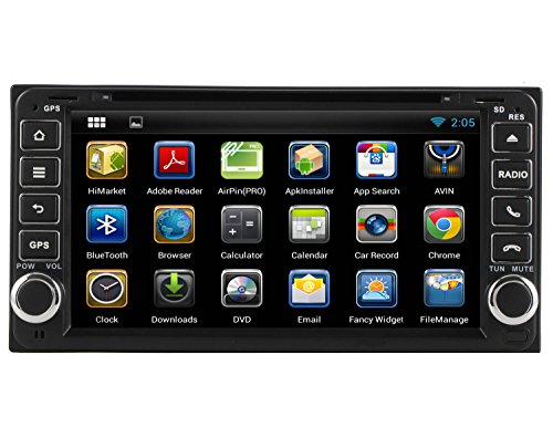 YINUO 6.95″ Android 4.4 Car DVD Player GPS Stereo for Toyota Rav4/Camry/Corolla/Vitz(Echo)/Corolla E