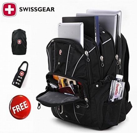 2015 Hot Waterproof Swiss Gear Multifunctional Men Luggage & Travel Bags Brand Knapsack,rucksack Bac