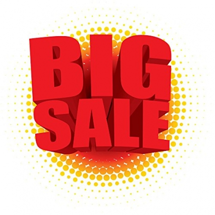 To reward all the customers, our Amazon store is now offering a big sale on most of the products!