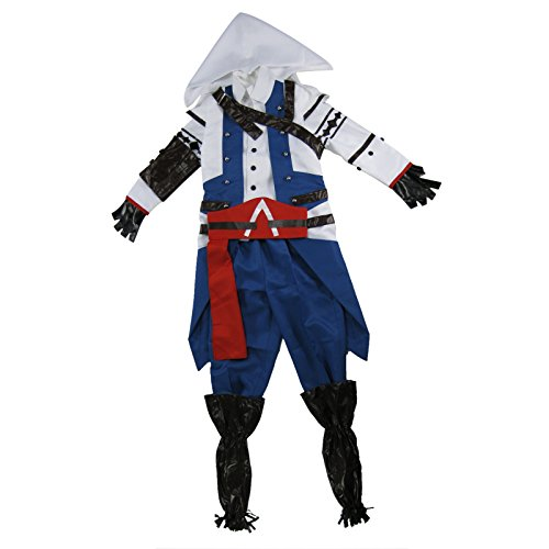 Tasso Assassin's Creed III Connor Kenway Anime Cosplay Costume Men Women Children Christmas Gift (Ch