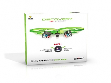 *Latest UDI 818A HD+ RC Quadcopter with HD Camera, Return Home Function and Headless Mode* 2.4GHz 4