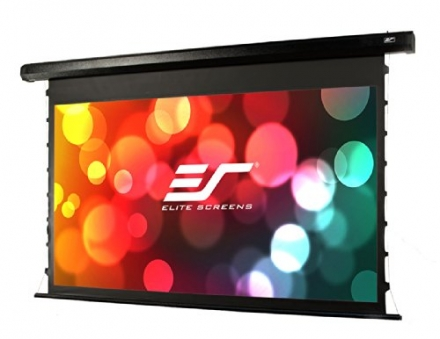 Elite Screens CineTension2 Series, 84-inch Diagonal 16:9, Tab-Tensioned Electric Projection Screen,