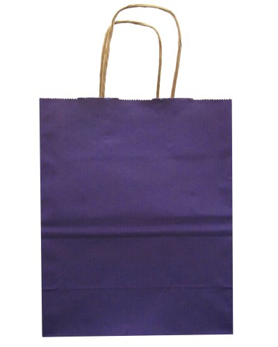 Jillson Roberts Bulk Medium Recycled Kraft Bags, Purple, 250-Count (BMK903)