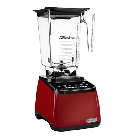 Blendtec 1003257 Designer Series WildSide Blender Jar, Red