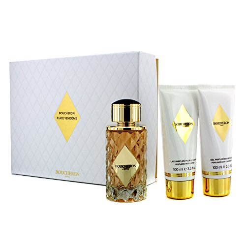Boucheron Place Vendome Gift Set By Boucheron for Women: 3.3 Oz Eau De Parfum Spray + 3.3 Oz Perfume