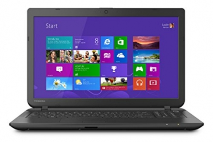Toshiba Satellite C55-B5100 15.6″ Laptop PC -Intel Celeron / 4GB Memory / 500GB HD / DVD±RW/CD-RW /