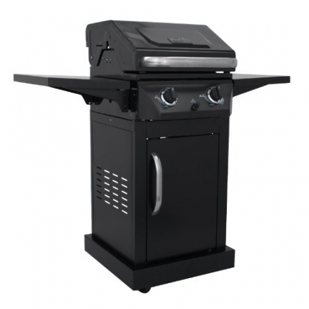 Char-Broil Classic 300 30,000 BTU 2-Burner Gas Grill with Single Door (463622515)
