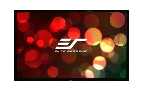 Elite Screens R100H1 ezFrame Fixed Projection Screen (100″ Diag. 16:9 49″Hx87″W)